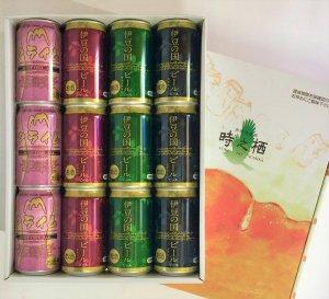 <br>伊豆の国ビール バラエティー<br>350ml缶 12本ギフトセット<br>伊豆の国ビールが全4種そろった<br>ギフトにも最適な商品です。<br>