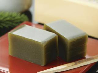 抹茶羊羹(小200g/ミニ100g)