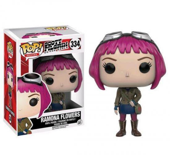 Scott Pilgrim vs The World Ramona Flowers Pop! Vinyl Figure FUNKO 334