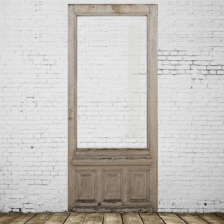 French shop door (white ��habby��