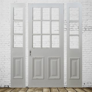 master and slave door(white)