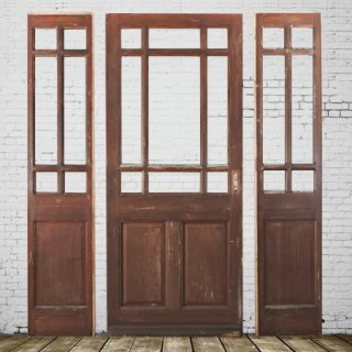 master and slave door(Brown)