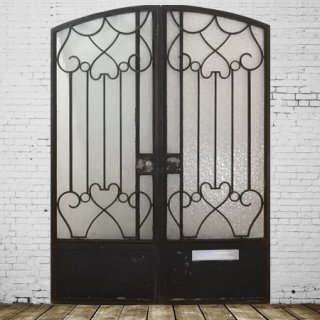 Iron Glass Gate