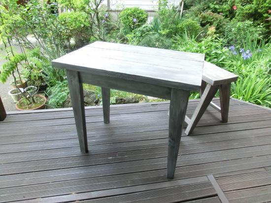 エイジング カフェテーブル