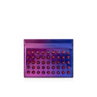 2015新作 ルブタン Christian Louboutin メンズ 財布 Kios Patent Scarabe/Spikes