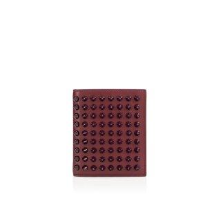2015新作 ルブタン Christian Louboutin メンズ 財布 Paros Wallet Calf/Spikes