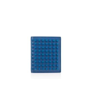 2015 新作 ルブタン Christian Louboutin メンズ 財布 Paros Wallet Calf/Spikes