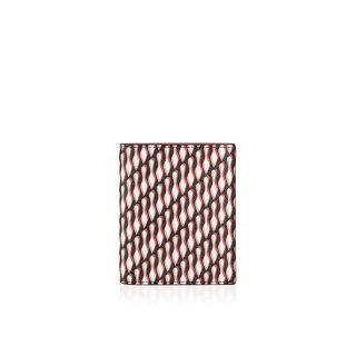 2015 新作 ルブタン Christian Louboutin メンズ 財布 Paros Wallet Toile Loubi