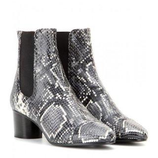 2015 新作 ISABEL MARANT イザベルマラン ☆ Danae embossed leather ankle boots ☆