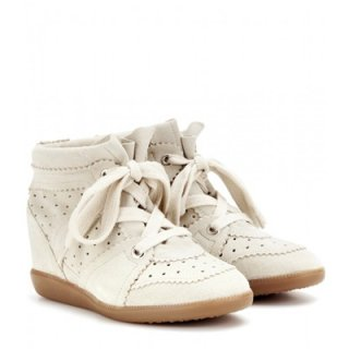 2015 新作 ISABEL MARANT イザベルマラン ☆ Bobby suede wedge sneakers ☆