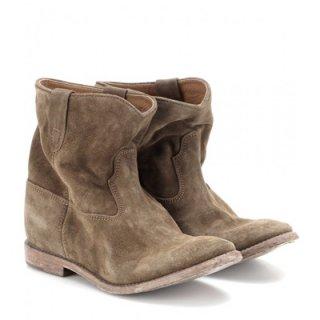 2015 新作 ISABEL MARANT イザベルマラン ☆ Crisi Suede Concealed Wedge Ankle Boots ☆