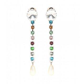 2015 新作 Miu Miu ミュウミュウ ☆mytheresa.com exclusive crystal-embellished clip-on earrings☆