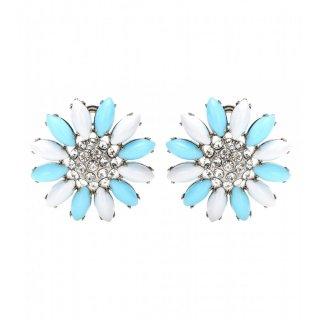 2015 新作 Miu Miu ミュウミュウ ☆Clip-on earrings with Swarovski crystals☆