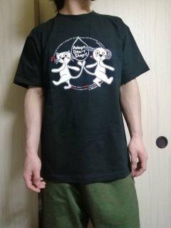 えっ!うそほんとTシャツ(黒)メンズLサイズ
