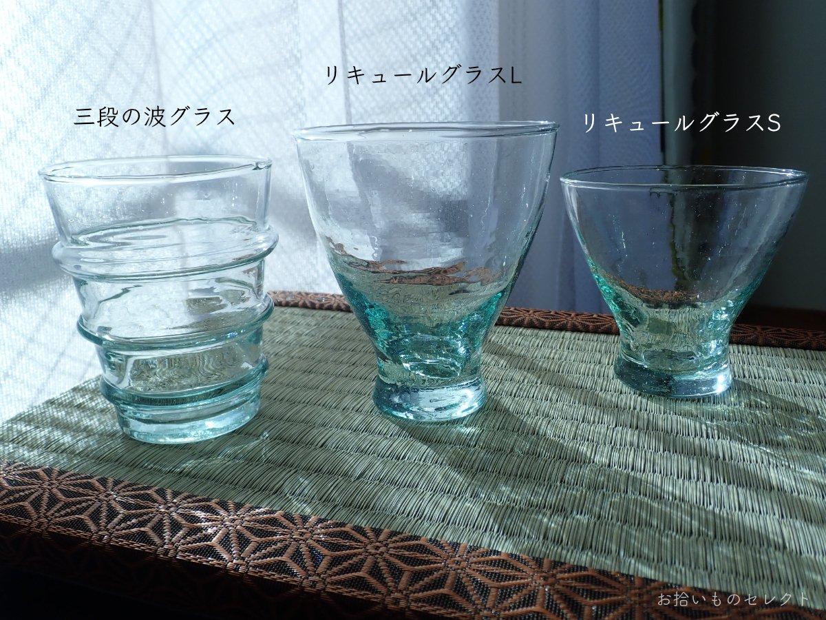 吹きガラスで作られたモロッコグラス