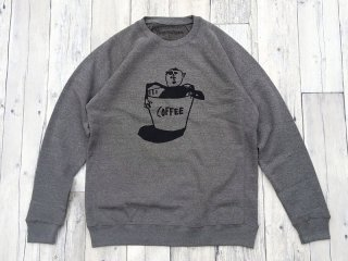 THE THURSDAYMAN [サースデイマン] Coffee Crewneck Sweat