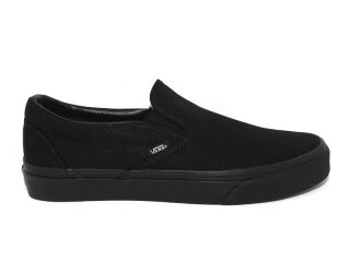 VANS [バンズ] CLASSIC SLIP-ON/ALL BLACK
