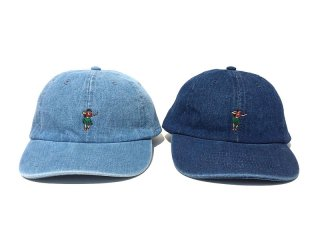 SUNDAYS BEST [サンデイズ ベスト] HULA GIRL 6PANEL DENIM CAP
