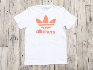 adidas skateboarding [アディダス・スケートボーディング] ALLTIMERS TEE/WHITE-SOFT ORANGE