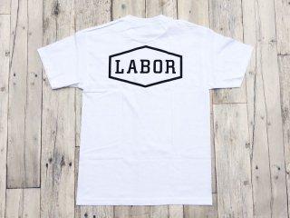 LABOR [レイバー] CREST LOGO TEE/White