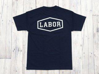 LABOR [レイバー] CREST LOGO TEE/Navy