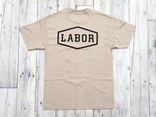 LABOR [レイバー] CREST LOGO TEE/Khaki