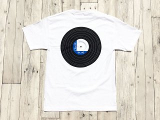 HOTEL BLUE [ホテルブルー] BLUE  NOTE VNIYL  TEE/WHITE