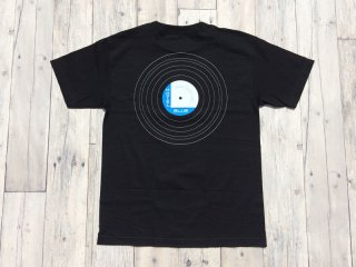 HOTEL BLUE [ホテルブルー] BLUE  NOTE VNIYL  TEE/BLACK