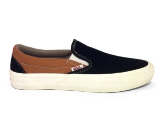 VANS [バンズ] SLIP-ON PRO/BLACK-BRONZE
