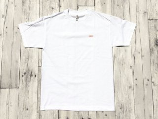 JHAKX [ジャークス] LATE SUMMER TEE/WHITE-SALMONPINK