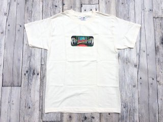 BEDLAM [べドラム] x RED TOPS SF2 TEE/NATURAL