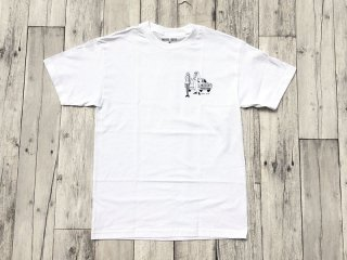HOTEL BLUE [ホテルブルー] NO MONEY NO HONEY TEE/WHITE