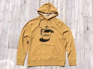 THE THURSDAYMAN [サースデイマン] Coffee Hooded Sweat