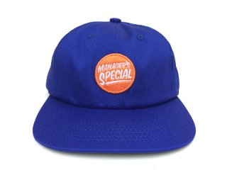 MANAGER'S SPECIAL [マネージャーズスペシャル] LOGO 6PANEL CAP