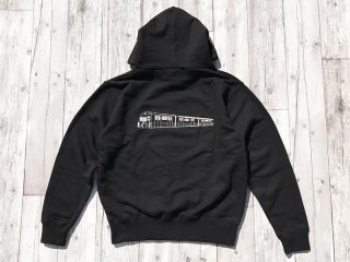 JHAKX [ジャークス] SUBWAY PULLOVER HOODY/BLACK
