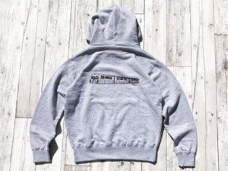 JHAKX [ジャークス] SUBWAY PULLOVER HOODY/H.GREY