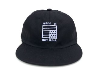 The Village Three [ヴィレッジ スリー] MADE IN NOT U.S.A. 6PANEL CAP