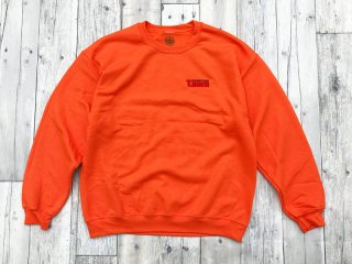 SUNDAYS BEST [サンデイズ ベスト] TIMES CREW NECK SWEAT/ORANGE