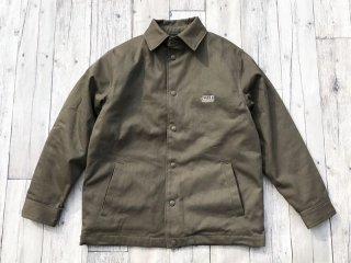 JHAKX [ジャークス] COTTON COACHES JACKET/OLIVE