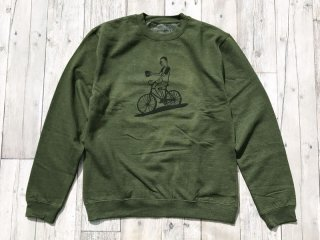 THE THURSDAYMAN [サースデイマン] Coffee Roller Crewneck Sweat