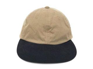 NO ROLL [ノーロール] DEVELOP CAP/BEIGE×BLACK
