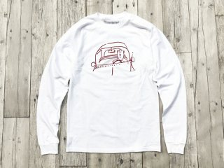 THE THURSDAYMAN [サースデイマン] Road Tripper Long Sleeve/White