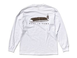 SUNDAYS BEST [サンデイズ ベスト] HATOS BAR LONG SLEEVE TEE/WHITE