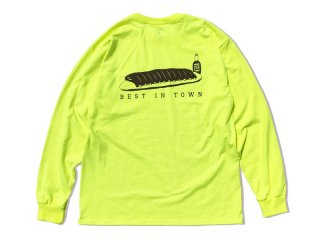 SUNDAYS BEST [サンデイズ ベスト] HATOS BAR LONG SLEEVE TEE/BRIGHT YELLOW
