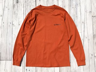 SUNDAYS BEST [サンデイズ ベスト] LOS DOMINGOS LONG SLEEVE TEE/TEXAS ORANGE