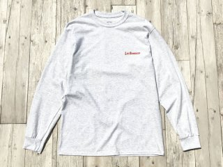 SUNDAYS BEST [サンデイズ ベスト] LOS DOMINGOS LONG SLEEVE TEE/ASH GREY