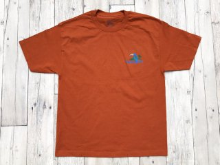 SUNDAYS BEST [サンデイズ ベスト] TREASURE ISLAND TEE/TEXAS ORANGE