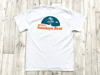 SUNDAYS BEST [サンデイズ ベスト] ALWAYS POCKET TEE/WHITE