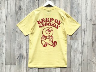MANAGER'S SPECIAL [マネージャーズスペシャル] KEEP ON SNOOZING TEE/BANANA