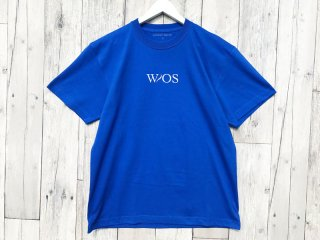 WITHOUT SQUAD [ウィザウト・スクワッド] CLASSIC LOGO TEE/BLUE